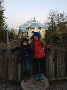 Ausflug mit Kindern München Zoo im Winter