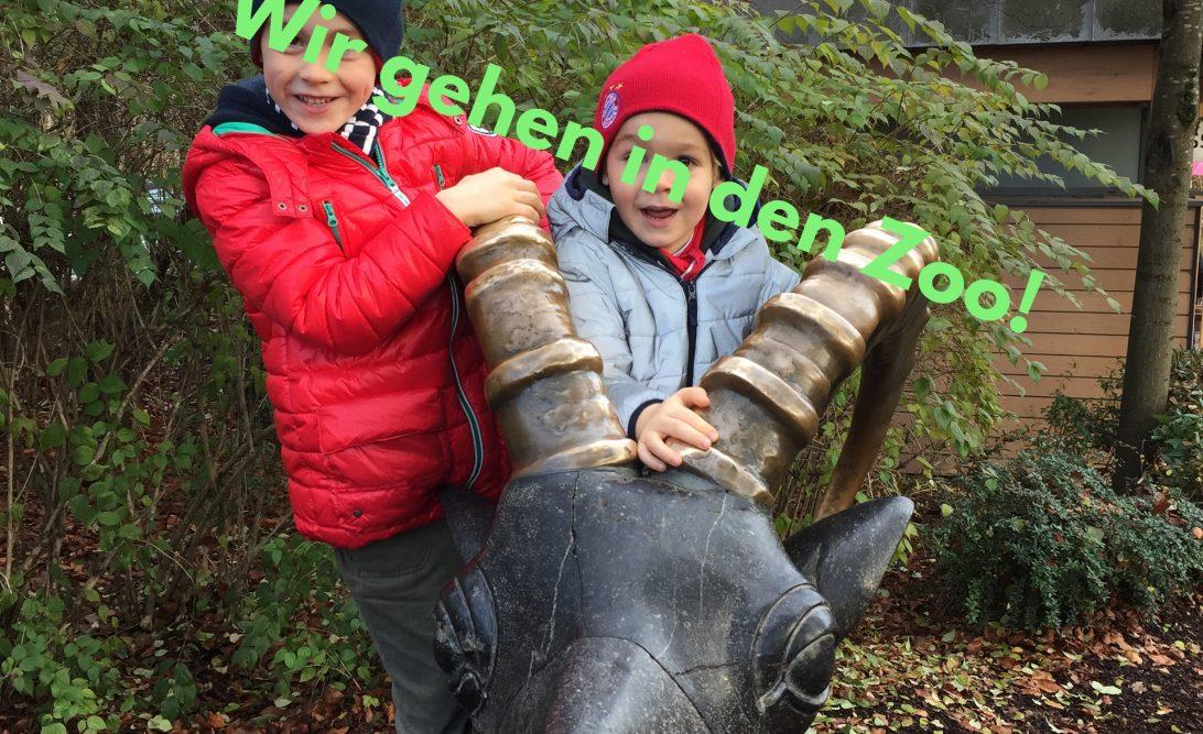 Ausflug mit Kindern München Zoo