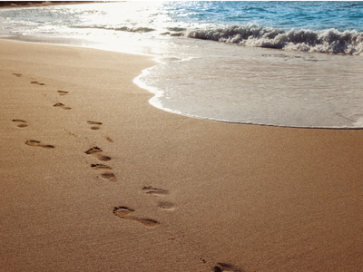 Erlebnis am Strand