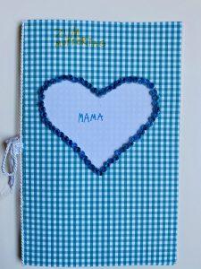 Muttertag-Geschenk-Perlen-Herz