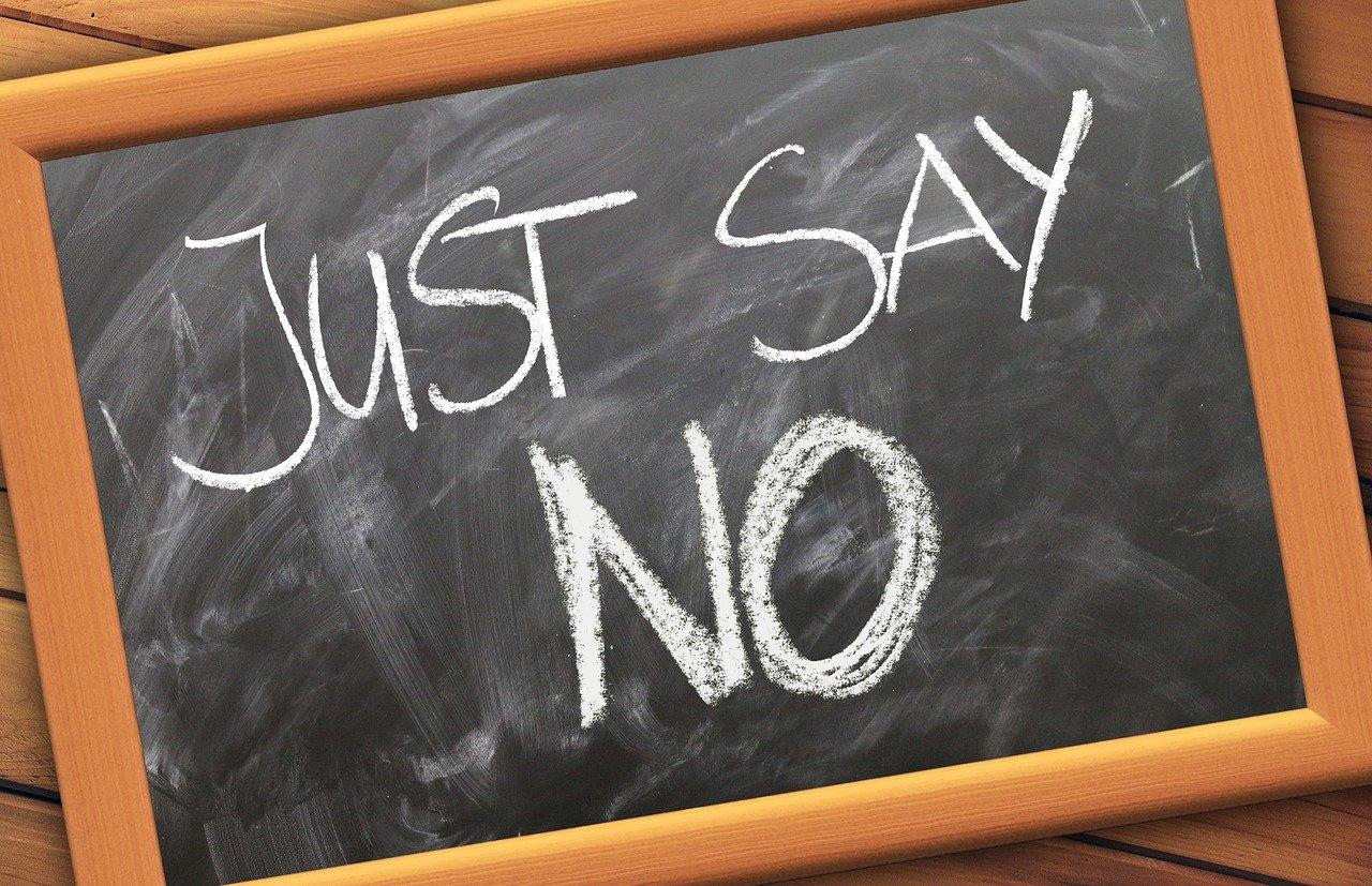 3 Gründe, warum Du nein sagen darfst und sollst