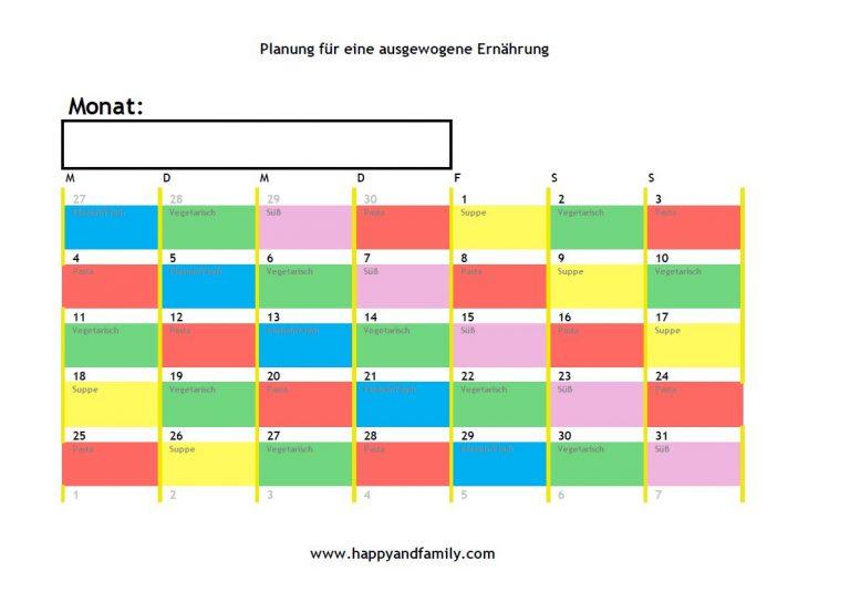 kalendervorlage download